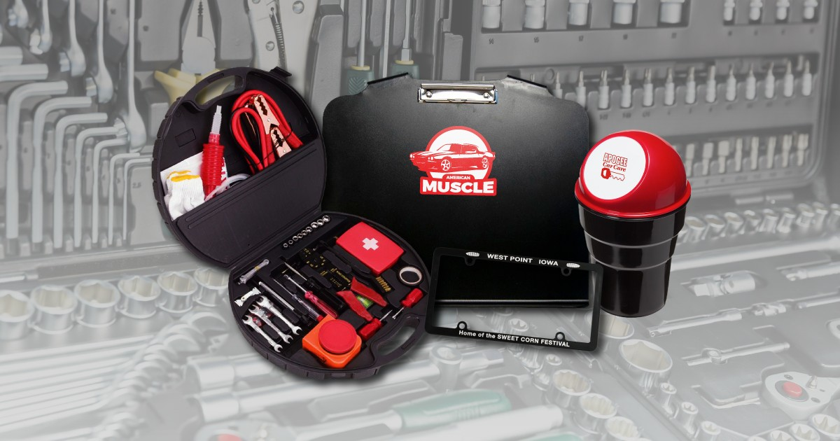 Get in Gear With These Automotive Promo Products